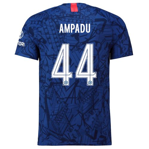 Chelsea Home Cup Vapor Match Shirt 2019-20 with Ampadu 44 printing