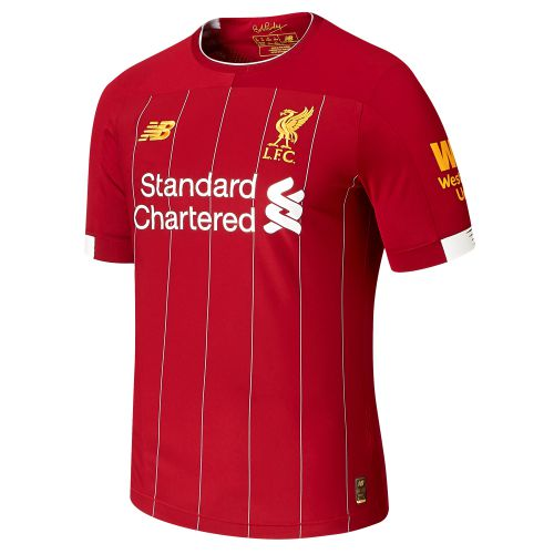 Liverpool Home Elite Shirt 2019-20 with Virgil 4 printing