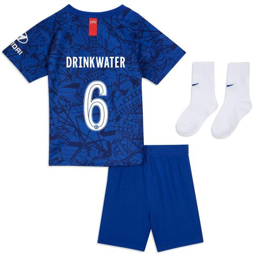 Chelsea Home Cup Stadium Kit 2019-20 - Infants with Drinkwater 6 printing