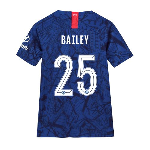 Chelsea Home Cup Stadium Shirt 2019-20 - Kids with Bailey 25 printing