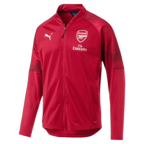 Arsenal Training Stadium Jacket - Red