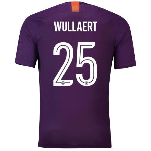 Manchester City Third Cup Vapor Match Shirt 2018-19 with Wullaert 25 printing
