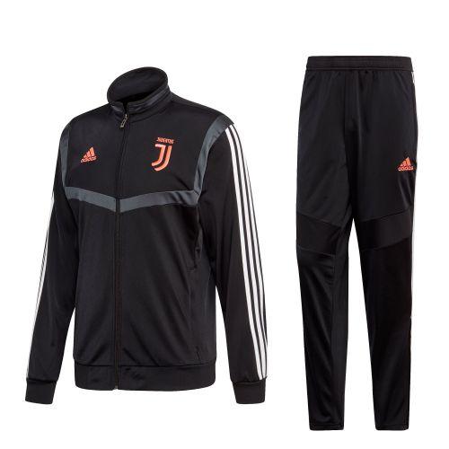 Juventus Presentation Suit - Black