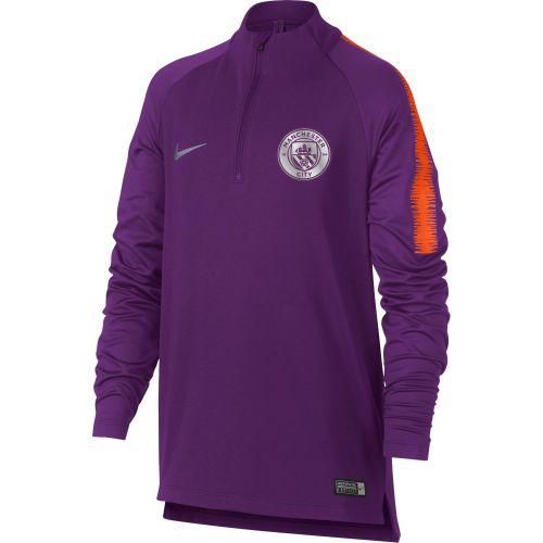 Manchester City Squad Drill Top - Purple - Kids