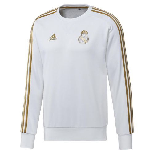 Real Madrid Training Sweat Top - White