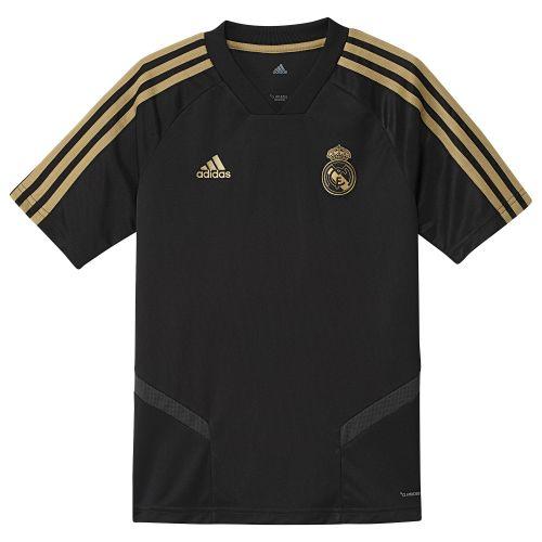 Real Madrid Training Jersey - Black - Kids