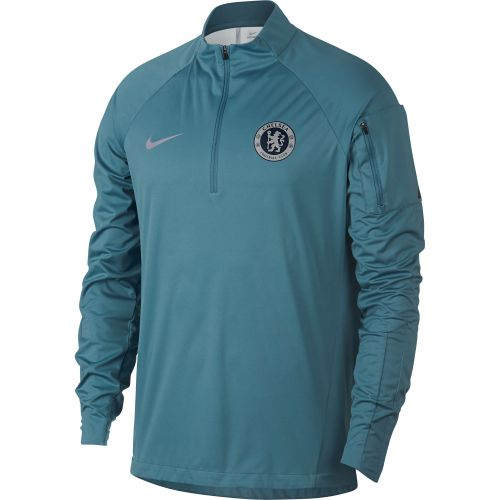Chelsea Shield Squad Drill Top - Green