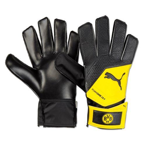 BVB One Grip 18.4 Goalkeeper Gloves - Black