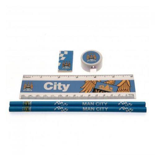 Ученически Пособия MANCHESTER CITY Core Stationery Set