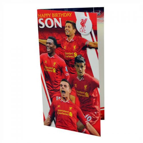 Картичка LIVERPOOL Birthday Card Son
