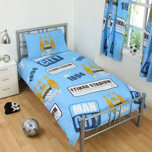 Спално Бельо MANCHESTER CITY Single Duvet Set PT