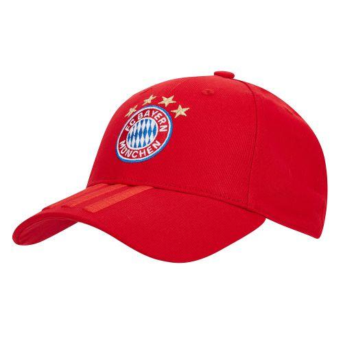 Bayern Munich 3 Stripes Cap - Red