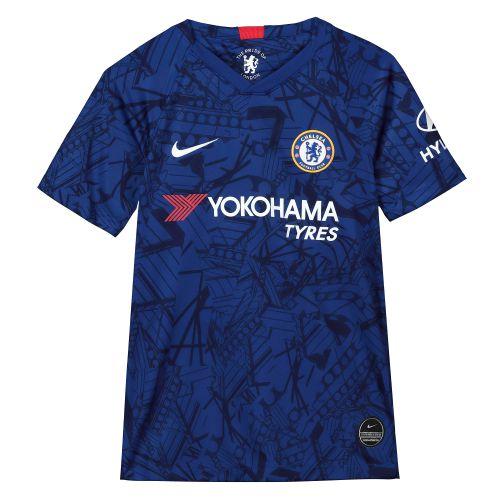 Chelsea Home Stadium Shirt 2019-20 - Kids with Hazard 10 printing