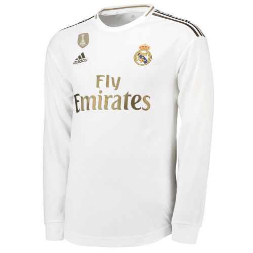 Real Madrid Home Authentic Shirt 2019-20 - Long Sleeve