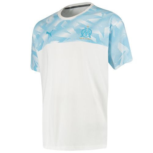Olympique de Marseille Casuals T-Shirt - White