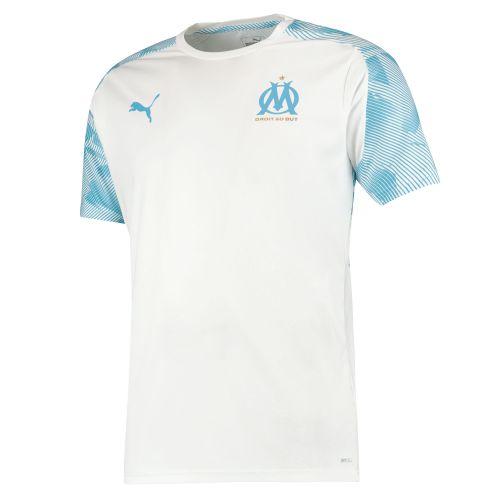 Olympique de Marseille Training Jersey - White