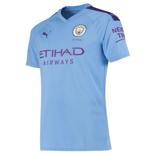 Manchester City Authentic Home Shirt 2019-20 with Kun Agüero 10 printing