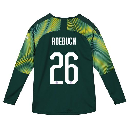 Manchester City Cup Home Goalkeeper Shirt 2019-20 - Kids with Roebuck 26 printing