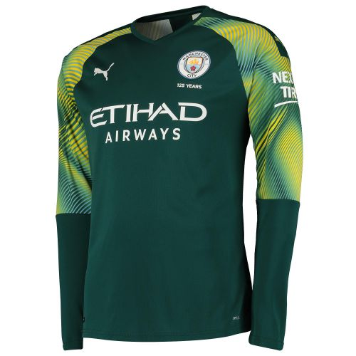 Manchester City Home Goalkeeper Shirt 2019-20 with Grimshaw 32 printing