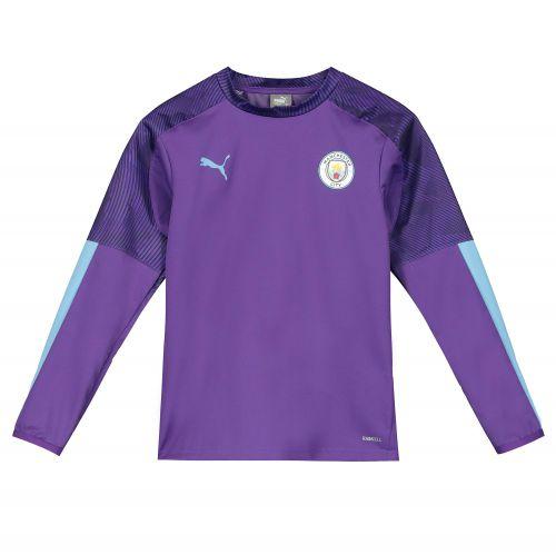 Manchester City Training Rain Top - Purple - Kids