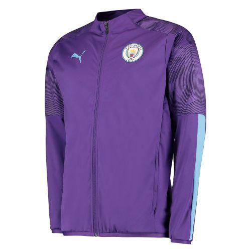 Manchester City Training Woven Jacket - Purple