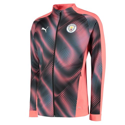 Manchester City Stadium Jacket - Pink