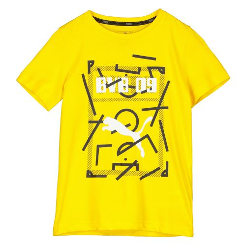 BVB DNA T-Shirt - Yellow - Kids