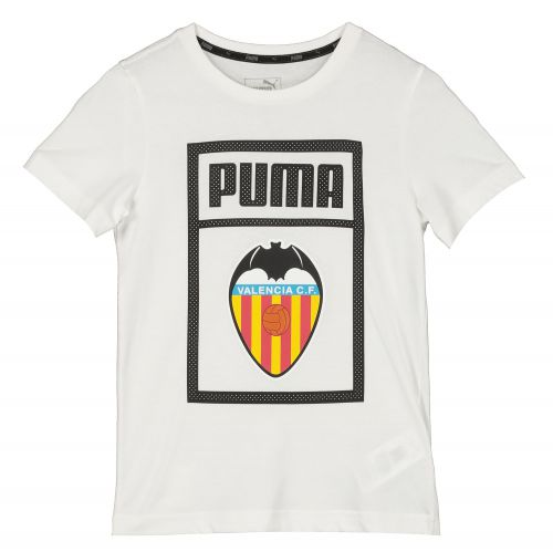 Valencia CF Shoe Tag T-Shirt - White - Kids