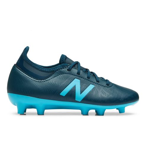 New Balance Tekela v2 Magique Firm Ground Football Boots - Blue - Kids