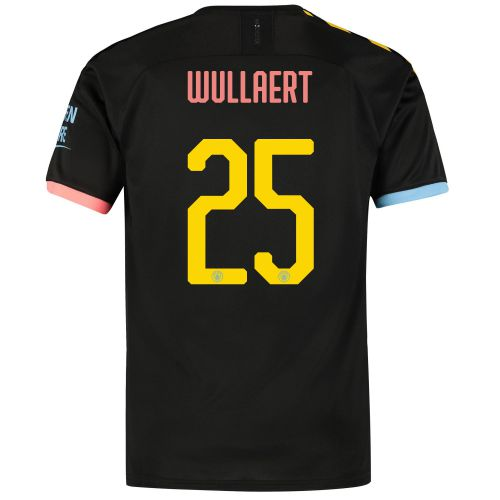 Manchester City Cup Away Shirt 2019-20 with Wullaert 25 printing
