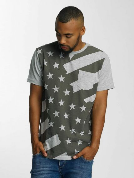 Just Rhyse / T-Shirt Meadow Lakes in grey