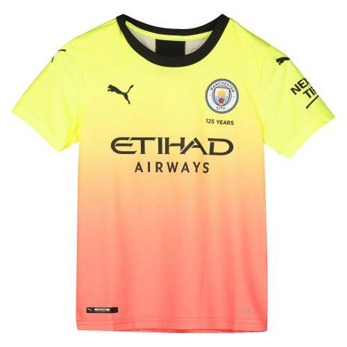 Manchester City Third Shirt 2019-20 - Kids with De Bruyne 17 printing