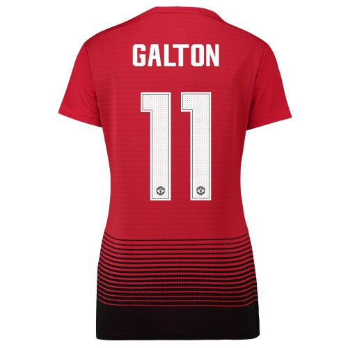 Manchester United Home Cup Shirt 2018-19 - Womens with Galton 11 printing
