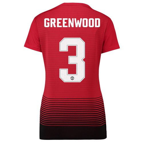Manchester United Home Cup Shirt 2018-19 - Womens with Greenwood 3 printing