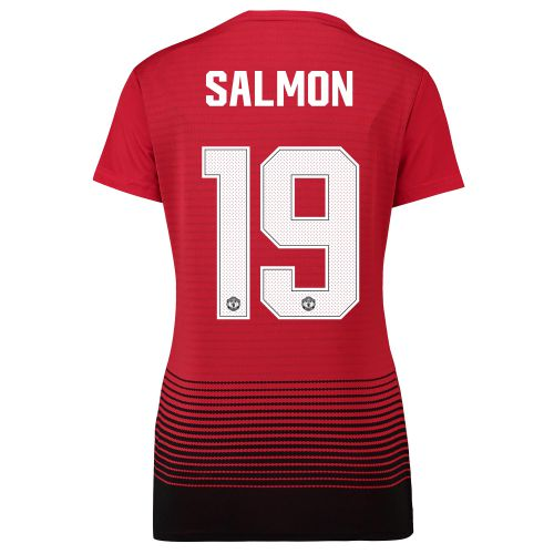 Manchester United Home Cup Shirt 2018-19 - Womens with Salmon 19 printing