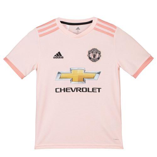 Manchester United Away Shirt 2018-19 - Kids with Lingard 14 printing