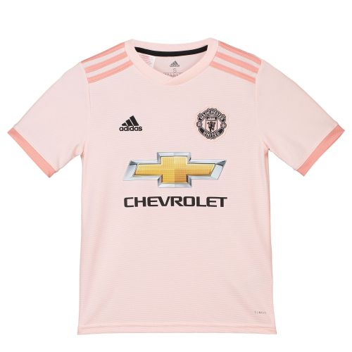 Manchester United Away Shirt 2018-19 - Kids with Shaw 23 printing