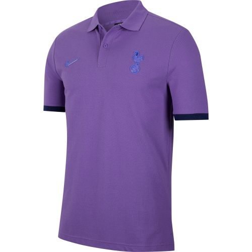 Tottenham Hotspur Pique Crew Polo - Grape