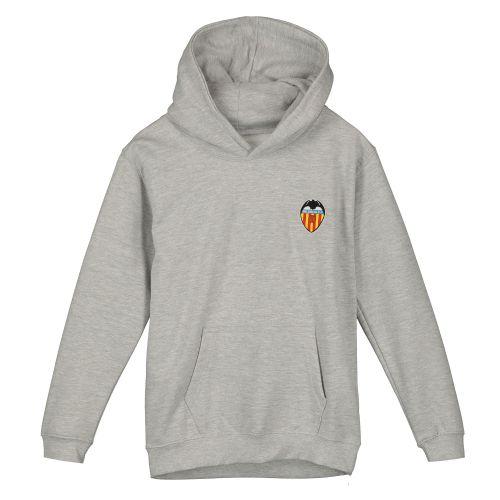 Valencia CF Crest Hoody - Grey - Junior