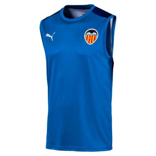Valencia CF Sleeveless Training Jersey - Blue