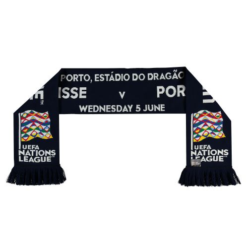 Nations League Portugal v Switzerland Friendship Scarf - Multi - Adult