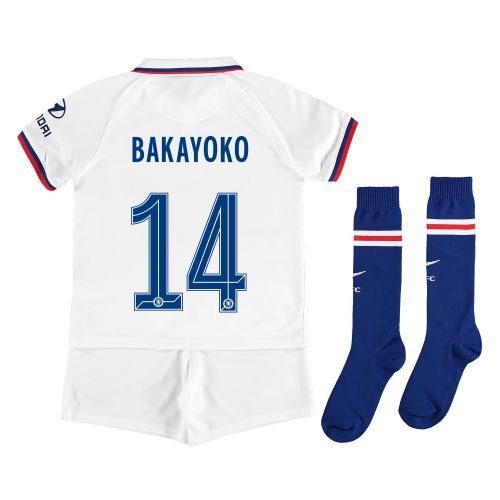 Chelsea Away Cup Stadium Kit 2019-20 - Little Kids with Bakayoko 14 printing