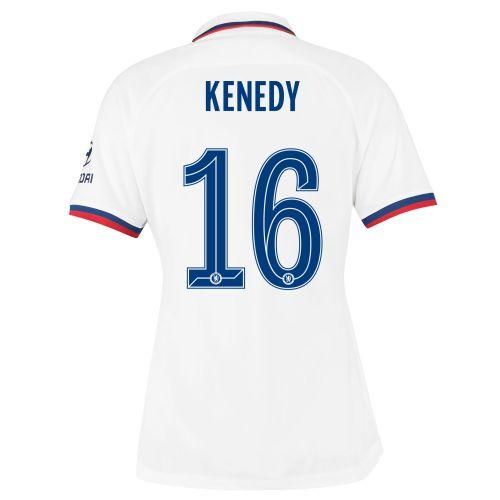Chelsea Away Cup Stadium Shirt 2019-20 - Womens with Kenedy 16 printing