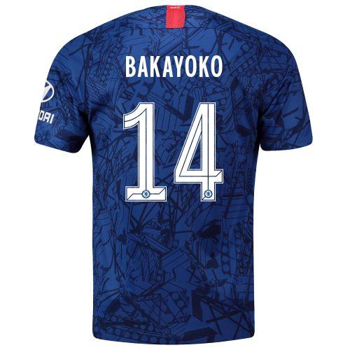 Chelsea Home Cup Stadium Shirt 2019-20 with Bakayoko 14 printing