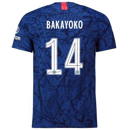 Chelsea Home Cup Vapor Match Shirt 2019-20 with Bakayoko 14 printing
