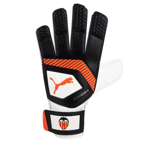 Valencia CF Puma One Grip 4 Goalkeeper Gloves - White