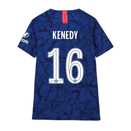 Chelsea Home Cup Vapor Match Shirt 2019-20 - Kids with Kenedy 16 printing