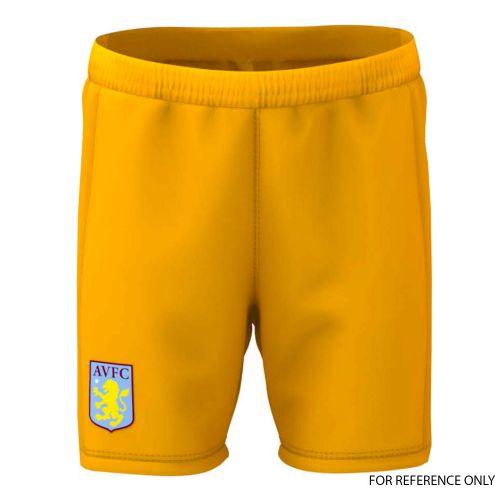 Aston Villa Away Goalkeeper Shorts 2019-20 - Kids