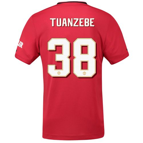 Manchester United Cup Home Shirt 2019 - 20 with Tuanzebe 38 printing