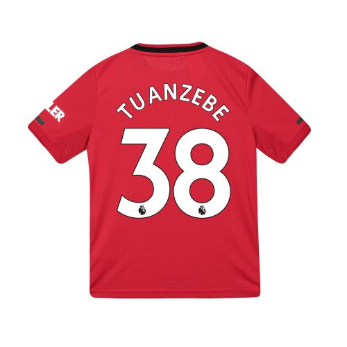 Manchester United Home Shirt 2019 - 20 - Kids with Tuanzebe 38 printing
